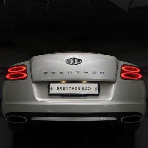 (오리진크롬)브렌톤 와이드 레터링 엠블럼 BEM-A118