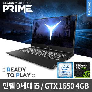 Y540-15IRH i5 Prime 1650 DOS 게이밍/디자인용/사무용