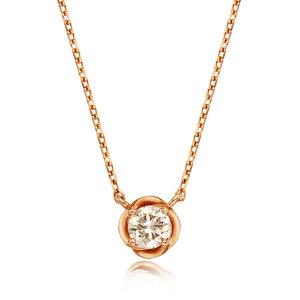 (신세계강남점) 로즈몽  1부 다이아몬드 14K 목걸이 RS0223