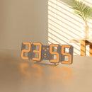 퓨어 미니 LED 탁상 시계 오렌지