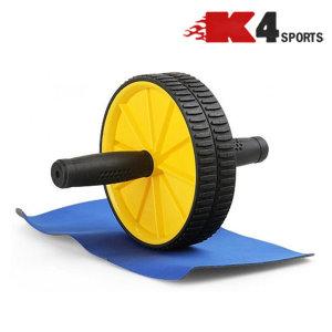 K4스포츠아몸디 AB휠복근AB슬라이드롤러휠(K08) 옐로우