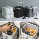 물빠짐 음식물쓰레기통 +누름이 휴지통 음식물처리기