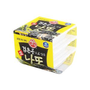 검은콩으로 만든 생낫또 153g(51gx3개입) ice