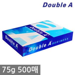 더블에이 A4 복사용지(A4용지) 75g 500매 1권/