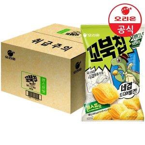오리온 꼬북칩 콘스프맛 80gx12개 (1박스)