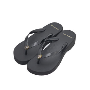 토리버치 컷아웃 웨지 플립플랍 신발 48211_009