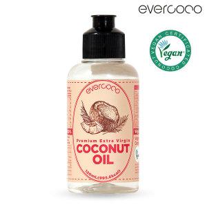 에버코코 프리미엄 엑스트라버진 코코넛 오일 120ml