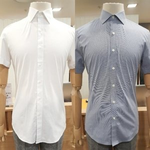 지오지아 S/S 반팔 드레스셔츠 2종택1 ABY2WD1201 ABY2WD1203