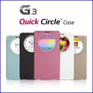 LG G3/G3 Cat6용 정품스타일 퀵서클 케이스