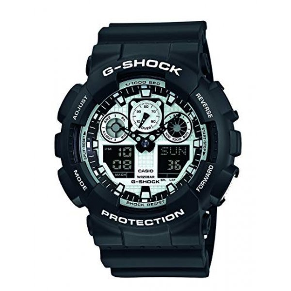 Casio G-Shock Mens Watch GA-100BW-1AER