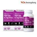 광동생활건강 데일리 칼슘 마그네슘 비타민D 4개월 분