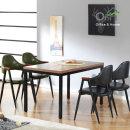 솔루션 1200x750 테이블 식탁 철제책상 4인테이블 카페