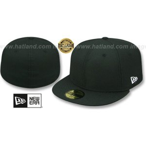 New Era DIAMOND TECH 59FIFTYBLANK Black Fitted Hat