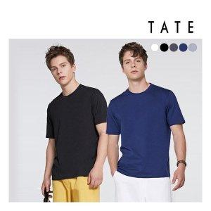 TATE  남성  19 면실켓100 여름 데일리 티셔츠 5종