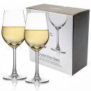 프리미엄 샤르도네 크리스탈 와인잔 2P(선물용)