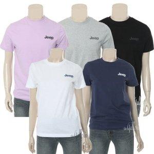 지프  모다아울렛 기본로고 작은 반팔 티셔츠 (GK2TSU092)