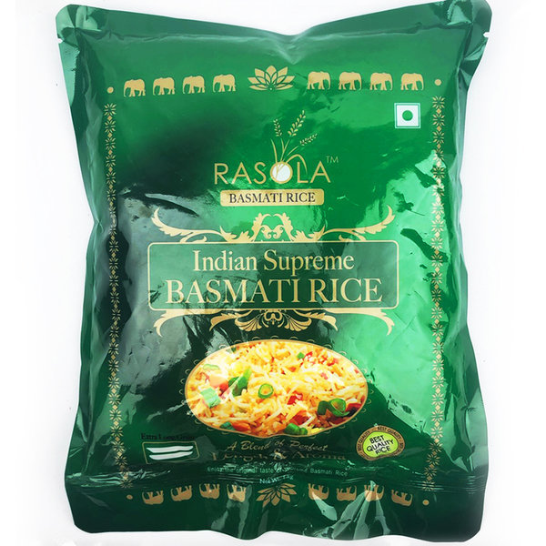 인도 찐쌀 Indian Supreme BASMATI RICE RASOLA 맛있는