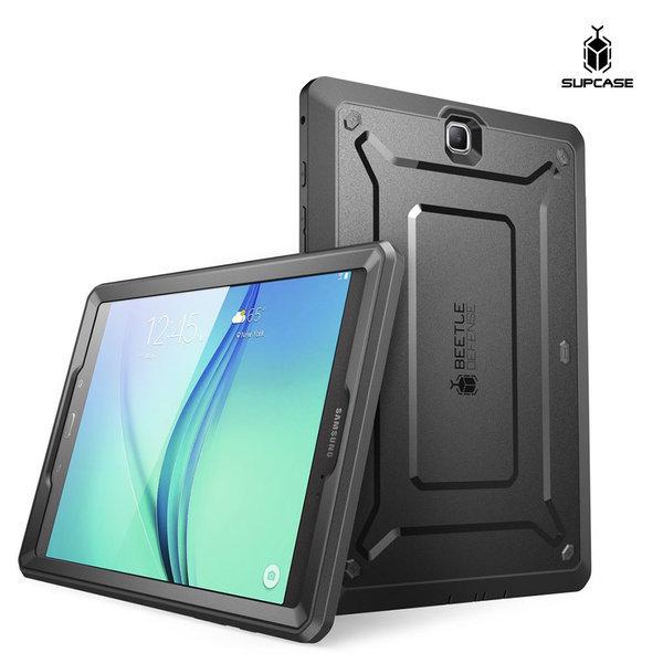 Supcase 갤럭시탭A 8 케이스 태블릿 보호 커버 블랙