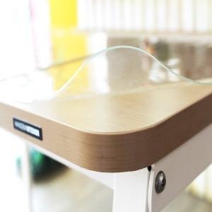 주문제작가능 유리대용 데스크  책상 식탁 투명매트
