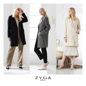 ZYGA 지가 스프링 롱자켓