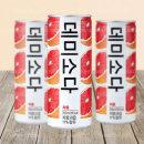 데미소다 자몽 250ml 1박스/무료배송 자판기 캔 음료