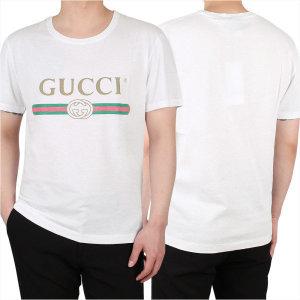 19FW 빈티지 로고 프린트 티셔츠 (440103 X3F05 9045)