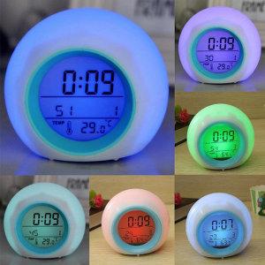 LED 내츄럴사운드 다양한알람시계 7가지 백라이트기능