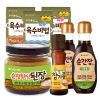보들김/간장/소금/된장/이유식재료