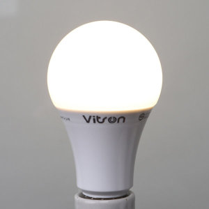 삼파장 대체형 KS LED 12W 에코 벌브 램프 전구색