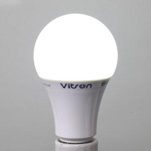 삼파장 대체형 KS LED 12W 에코 벌브 램프 주광색