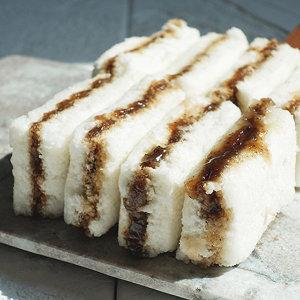 착한떡 꿀백설기 우유로 반죽해 고소한 식사대용 떡