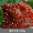 웰빙 꼴뚜기젓 250g 젓갈 청정 동해안 속초