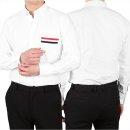 톰브라운  19SS 옥스포드 삼선 포켓 셔츠 (MWL288A 00139 100)