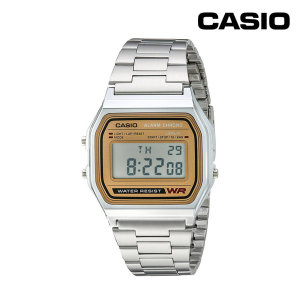 카시오 레트로 복고 전자 시계 A158WEA-9CF
