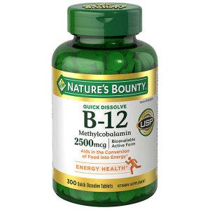 Nature Made 비타민 B-12 2500mcg (250타블렛)