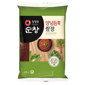 청정원 순창 양념듬뿍 쌈장 500g 봉지 쌈장 500g봉지