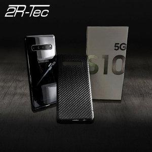 투알텍 갤럭시S10 5G 마그네틱 리얼카본케이스
