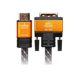케이엘시스템 케이엘컴 HDMI v2.0 to DVI-D PRIME 2m