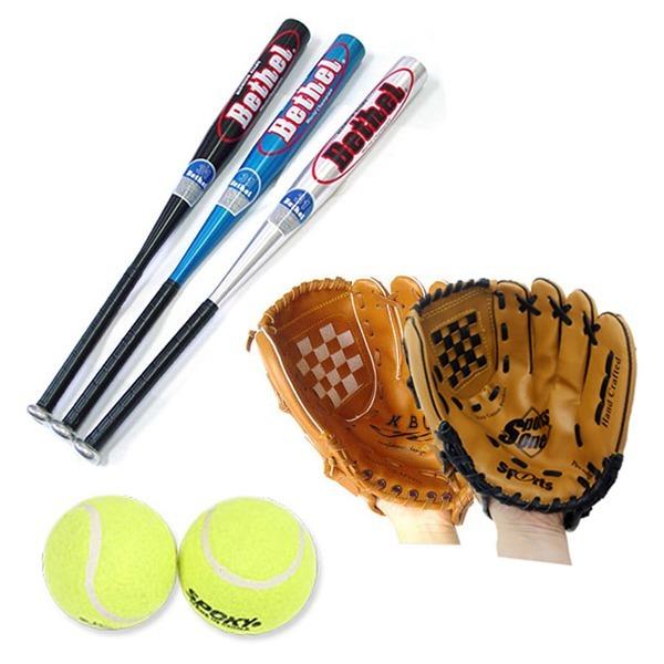 가족야구세트 가족 야구용품 글러브2 배트1 공2 야구