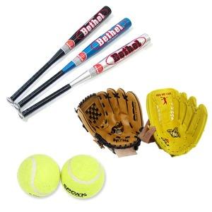 어린이 야구 용품 세트 글러브2 배트 공2 야구풀세트