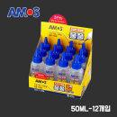 아모스) 물풀 120ML 1BOX / 강력접착 깨끗한도포성