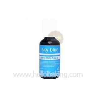 셰프마스터색소 액상형 스카이블루 20g (식용색소)