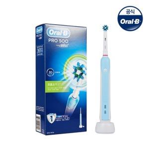 Oral-B  오랄비전동칫솔 PRO500 D16