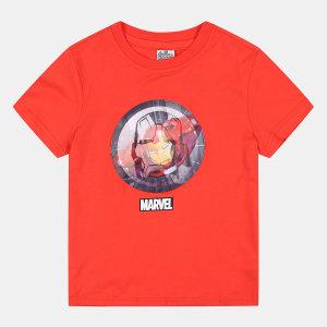 마블 홀로그램 티셔츠 OHRA19F08
