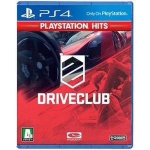 PS4 드라이브클럽 정발 한글판 새제품