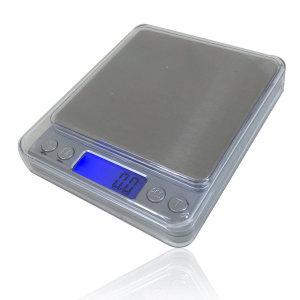 전자저울 1kg 주방 제빵 계량 계측 저울 /미니메탈실버