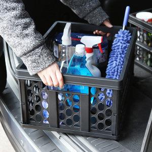 폴딩방식 트렁크 정리용 다용도 박스  T55