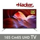 해커UHD LED TV165cm( 65 )삼성정품 스탠드형 무료설치