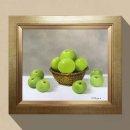 풍요 풋사과그림 사과그림액자 돈들어오는그림 10호