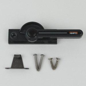 블랙 양방향 크리센트 대형 샤시 창문걸쇠/샤시 CR08B